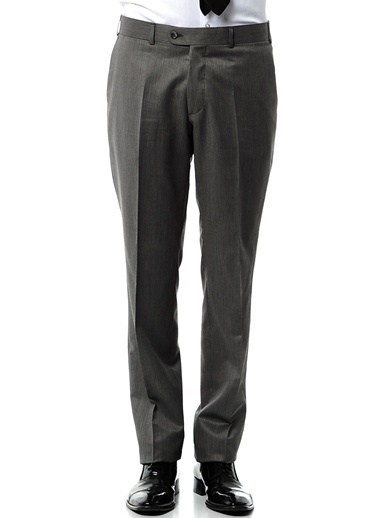 Daffari Klasik Pantolon Gri